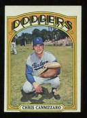 【送料無料】スポーツ メモリアル カード 1972トップス759クリスカニッツァーロexmtドジャーズ*15992*1972 topps hi 759 chris cann..