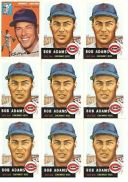 【送料無料】スポーツ メモリアル カード listing9 card bobby adams baseball card lot31 listing9 card bobby adams baseball car..