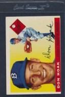 【送料無料】スポーツ メモリアル カード #ドン1955 topps 040 don hoak dodgers vgex *712
