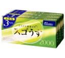 【目隠し梱包】ジェクス スゴうす2000° 3P 12個×3箱【避妊具・コンドーム】【まとめ買い・3パック】