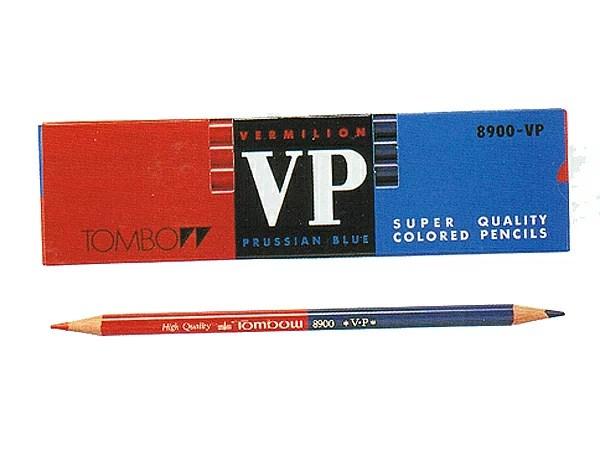 トンボ鉛筆 赤青鉛筆 8900VP(朱藍)