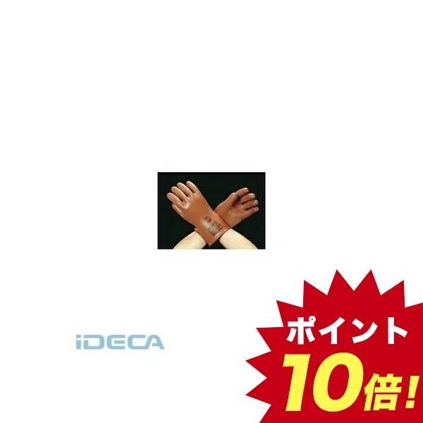 CU35744 L 600V 絶縁ゴム手袋【キャンセル不可】 【ポイント10倍】