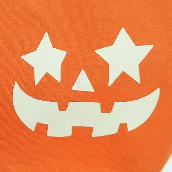 ドッグウェア 暗闇で光るユニークなかぼちゃパーカー!ハロウィーン