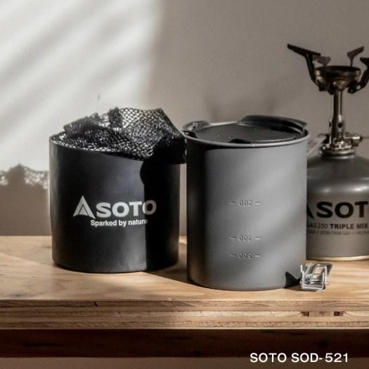 SOTO SOD-521 ソト 新富士バーナー サーモスタッククッカーコンボ クッカー バーべキュー クッカーセット ...