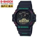 カシオ Gショック スローバック 1990s ブラック DW-5900TH-1JF CASIO G-SHOCK Throwback クリスマスカラー デジタル メンズ 腕時計 (D..