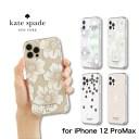 kate spade new york ケイトスペード iPhone12ProMAX ケース クリア ブランド Protective Hard……