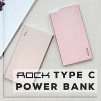 ROCK ROCK TYPE C Power Bank 5000mAh モバイル バッテリー MicroUSBポート 全2色 ポケットサイズ 小型 持ち運び 軽量 便利 power bank Battery Pack 【メール便不可】