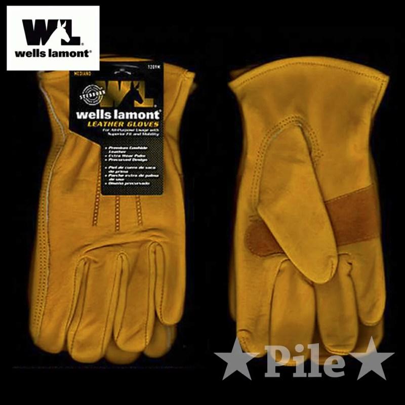 バイク グローブ 革 手袋 革手袋 バイクグローブ WELL