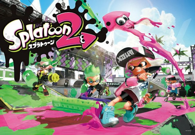 ENS-1000T-50 Splatoon2 SPLATOON2 1000ピース