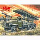 1/35 ソビエト BM-13-16N カチューシャロケットランチャー【35512】 ICM