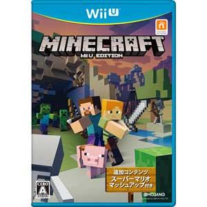 【Wii U】MINECRAFT: Wii U EDITION 【税込】 日本マイクロソフト [WUP-P-AUMJ]【返品種別B】【RCP】