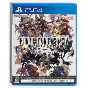 【PS4】ファイナルファンタジーXIV コンプリートパック スクウェア・エニックス [PLJM-80252 FF14 コンプリートパック]【返品種別B】