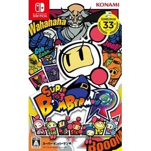 【Nintendo Switch】SUPER BOMBERMAN R 【税込】 コナミデジタルエンタテインメント [RL001-J1 NSWボンバーマンR]【返品種別B】【送料無料】【RCP】