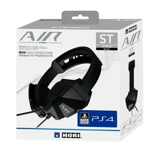 【PS4】ゲーミングヘッドセット AIR STEREO for PlayStation4 BLACK ホリ [PS4-083]