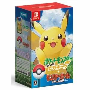 【Nintendo Switch】ポケットモンスター Let's Go! ピカチュウ モンスターボール Plusセット ポケモン [HAC-R-ADW2A NSWポケモンピカチュウモンスターボール]
