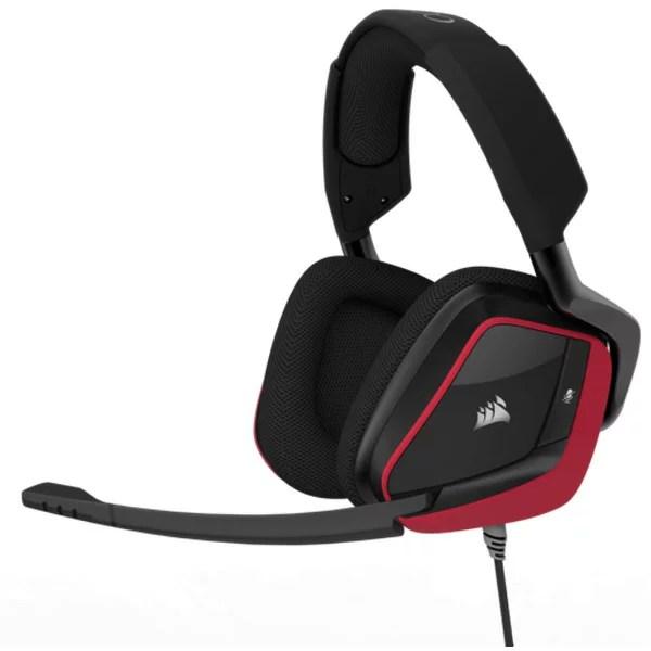 CA-9011157-AP コルセア プレミアム ゲーミング ヘッドセット Dolby Headphone 7.1 搭載(AP)(赤) VOID PRO Surround Gaming Headset