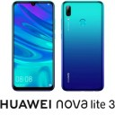 POT-LX2J-BL HUAWEI(ファーウェイ) nova lite 3 オーロラブルー [6.21インチ / メモリ 3GB / ストレージ 32GB]SIMフリースマートフォン