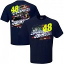 UNBRANDED チーム コレクション 紺色 ネイビー ジョンソン Tシャツ 【 TEAM UNBRANDED HENDRICK MOTORSPORTS COLLECTION NAVY JIMMIE J..