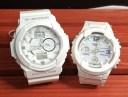 恋人たちのGショック ペア G-SHOCK BABY-G ペアウォッチ ペア腕時計 カシオ 2本セット gショック ベビーg GA-150-7AJF BGA-2300-7BJF ..