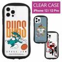 iPhone12 ケース iPhone12 Pro ケース スペース・プレイヤーズ クリア キズ防止 カバー キャラ……