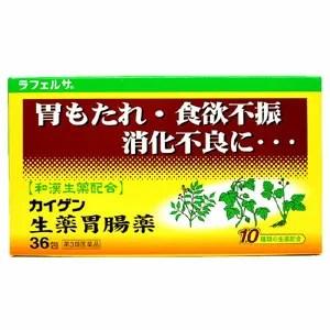 【第3類医薬品】カイゲン生薬胃腸薬 36包【胃腸薬】【胃もたれ】【食欲不振】【消化不良】