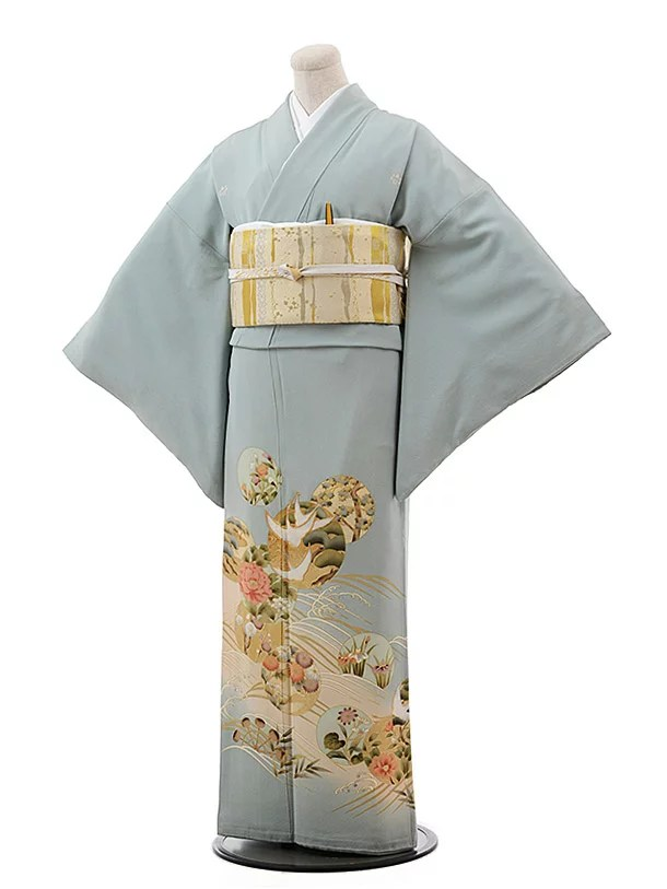 色留袖 レンタル 五つ紋 正絹 親族 色
