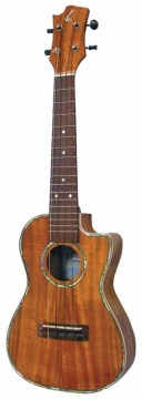 K ukulele K-301C《コンサートカッタウェイウクレレ》【送料無料】