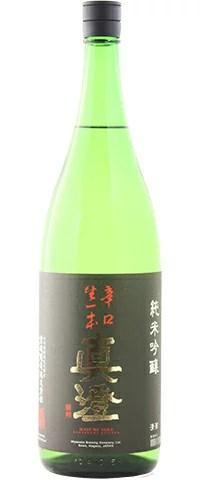 ☆【日本酒】真澄(ますみ) 純米吟醸 辛口生一本(からくちきいっぽん) 1800ml