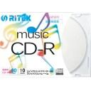 【即配】 RiDATA 音楽録音用CD-R 1回録音用 CD-RMU80.10P C 80分 10枚【あす楽対応】