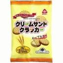【お買上特典】クリームサンドクラッカー メープル風味 (95g) 【サンコー】