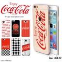 isai LGL22 ケース イサイ au ハード カバー lgl22 デザイン コカ コーラ COCA COLA
