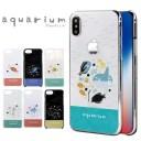アクアリウム スマホケース 全機種対応 ハードケース iPhone12miniカバー xperia1iii xperia10……
