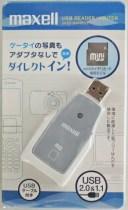 マクセル USBリーダーライター MINISD対応 UA20−MINISD2