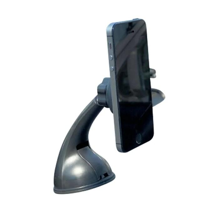 スマホスタンド 車 車載ホルダー マグネット 吸盤式 ロングアーム 取付簡単 磁石 カーナビ スマートフォン 携帯ホルダー iPhone iPad アイフォン _84035