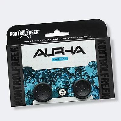 Alpha 黒 PS4 PS5※パッケージはPS4ですが、PS5でも使えます。【メール便のみ送料無料】Playstation 4 コントロールフリーク アルファ指が乗せやすく狙いをつけやすいFPS [並行輸入品]