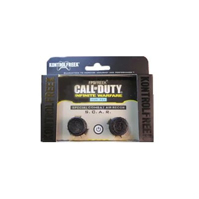 FPS Freek Call of Duty SCAR PS4 黒 Infinite Warfare 【メール便のみ送料無料】ブラックPlaystation 4 KontrolFreek CallofDutySpecial Combat Air Recon Performance Thumbsticks※代引き・ニッセン後払いできません