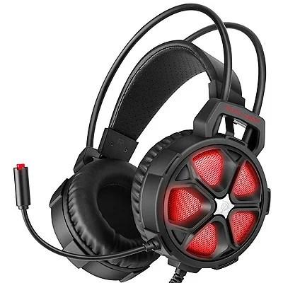 EasySMX COOL 2000 ゲーミングヘッドセット 赤PS4・PC・Xbox One Slim・SWITCH(ヘッドホンのみ)に対応【送料無料】【訳あり品:箱壊れ】高音質の密閉型ヘッドホンPlaystation4 ※NSはマイクが対応不可。※沖縄・北海道・九州・離島は送料別です