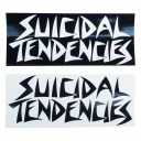 SUICIDAL TENDENCIES スイサイダルテンデンシーズ LOGO STICKER 横幅16.5CM
