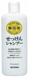 ミヨシ石鹸 無添加 せっけんシャンプー (350ml) くすりの福太郎