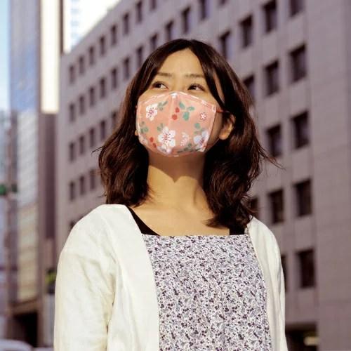 和柄のガーゼマスク、TVや新聞でご紹介いただいております、京都くろちく本店オリジナル♪京都...
