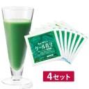 キューサイ青汁 ケール青汁 冷凍タイプ 90g×7パック入 4セット
