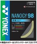 Yonex(ヨネックス) バドミントン用ガット ナノジー98 バドミント NBG98-528