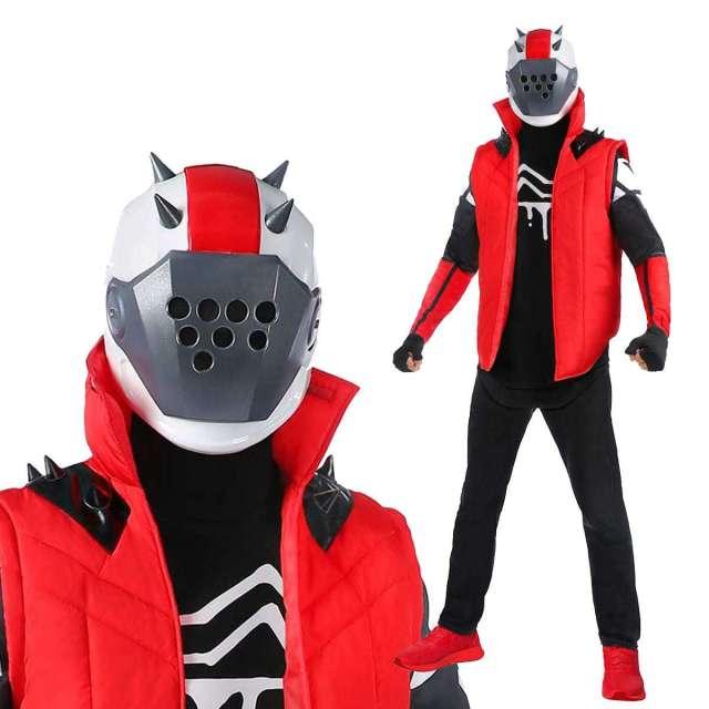 フォートナイト Xロード コスプレ 大人用 コスチューム X-Lord スキン 服 ハロウィン Fortnite