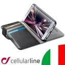 Galaxy S7 edge ケース 手帳型 高級 イタリア ブランド ビジネス セルラーライン Cellularline|スマホケース スマホカバー 手帳型ケー..