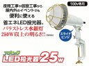 日動工業 TOL-E2505PN-50K LEDエコビック投光器25W スライドタイプ 2PNCT 5m P