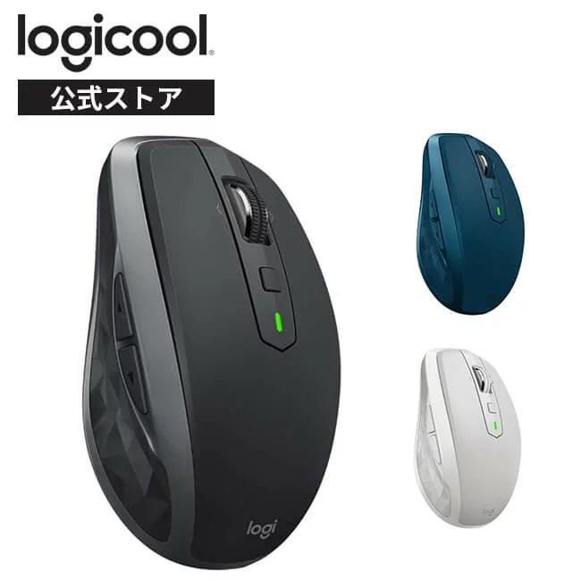 ロジクール ワイヤレスマウス MX ANYWHERE 2S MX1600sGR MX1600sGY 無線 マウス Unifying Bluetooth window...