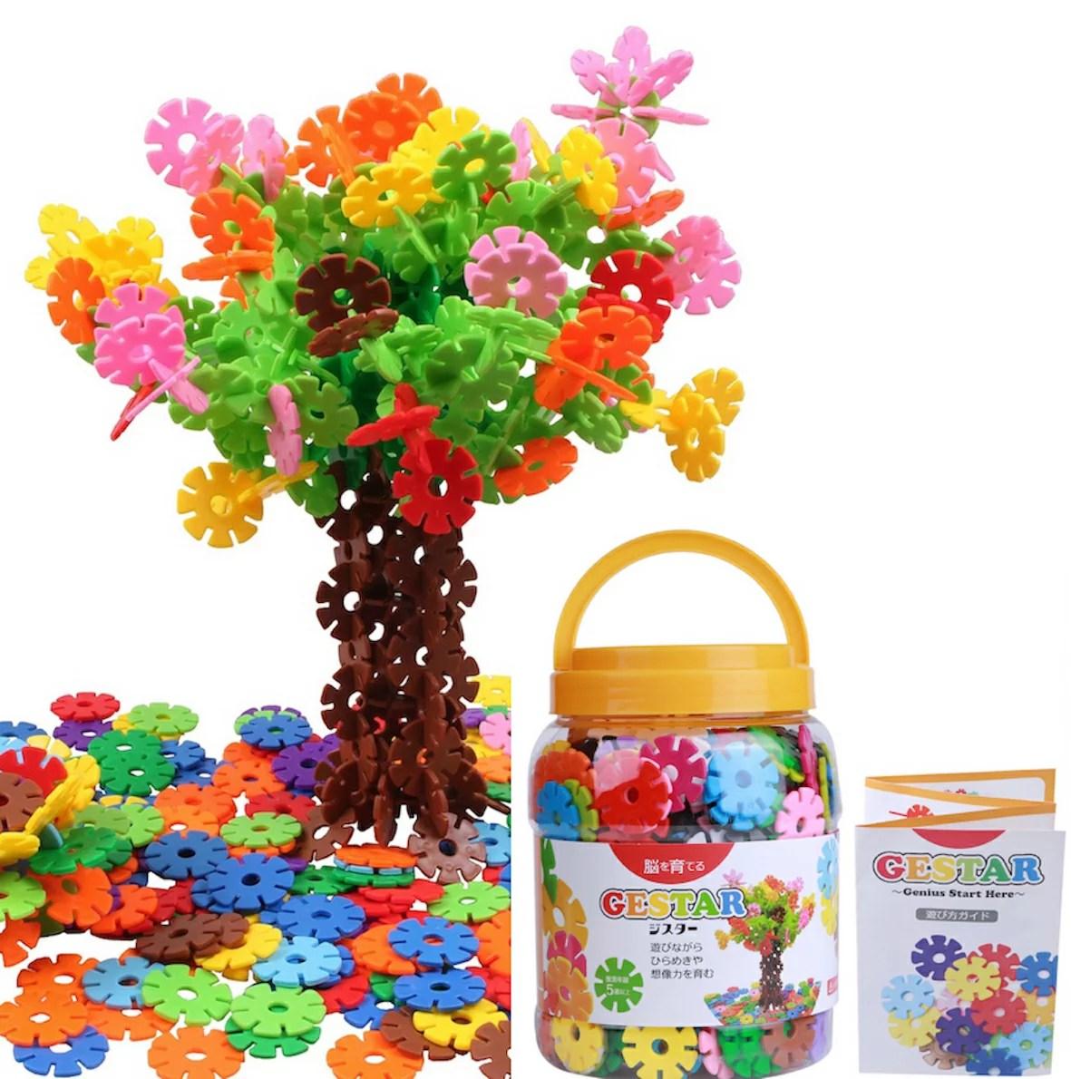 【公式】 GESTAR (ジスター) 天才のはじまり 知育玩具 ブロック おもちゃ 知育 ひもとおし 紐通し 2歳 ~ 7歳 動画説明書付 積み木 知育おもちゃ はめ込み 男の子 女の子 3歳 4歳 5歳 6歳 520ピース