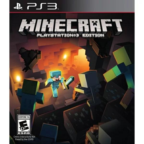 在庫あり[100円便OK]【新品】【PS3】Minecraft Playstation 3 Edition (マインクラフト/マイクラ)【海外北米版】【YDKG-u】【RCP】【02P29Aug16】