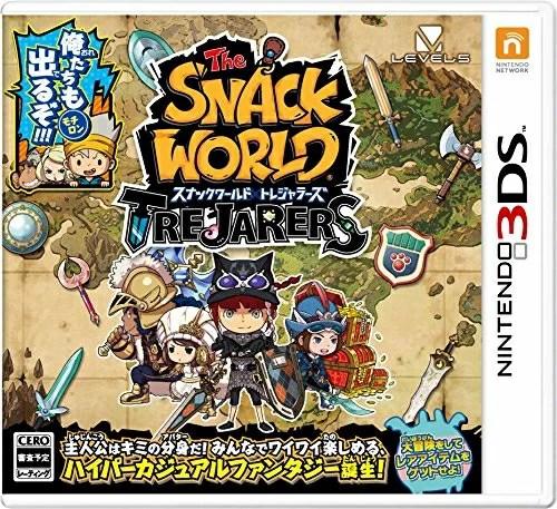 [100円便OK]【新品】【3DS】スナックワールド トレジャラーズ【RCP】[在庫品]