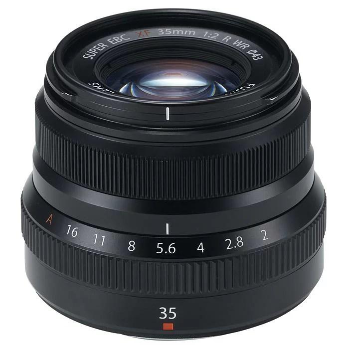 《新品》 FUJIFILM(フジフイルム) フジノン XF35mm F2 R WR ブラック[ Lens | 交換レンズ ]【KK9N0D18P】